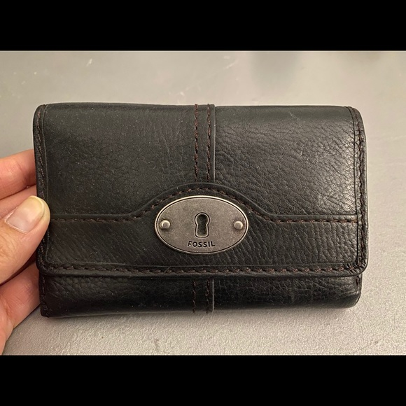Vintage Fossil Foldout Small Wallet